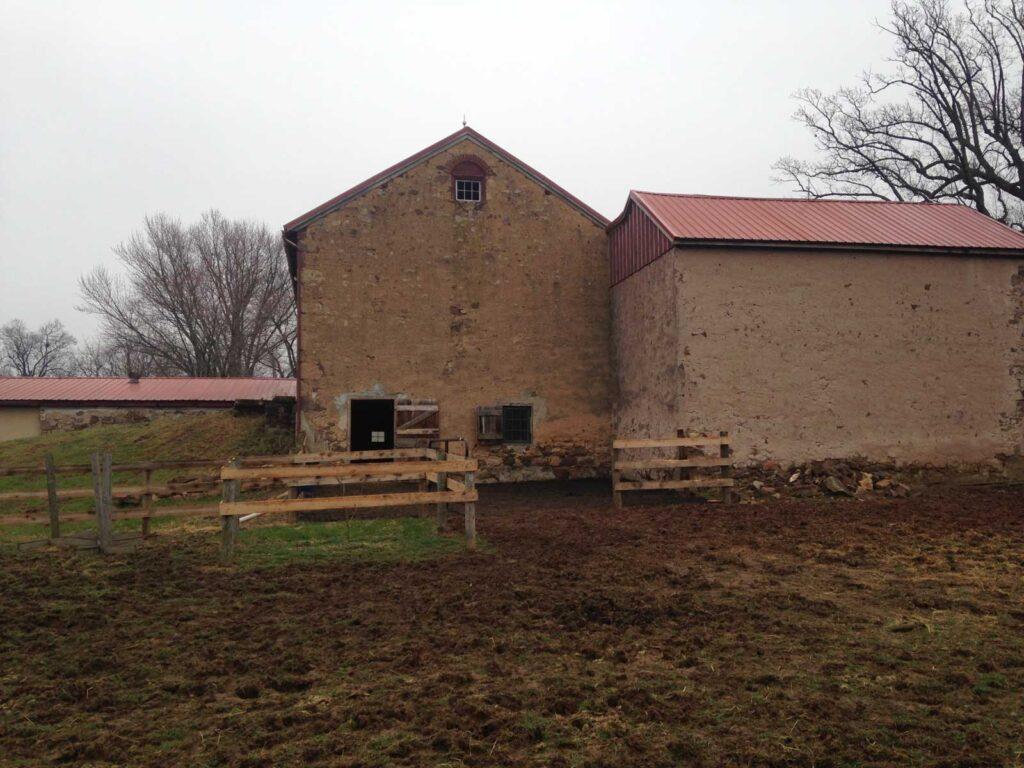 old barn stone siding