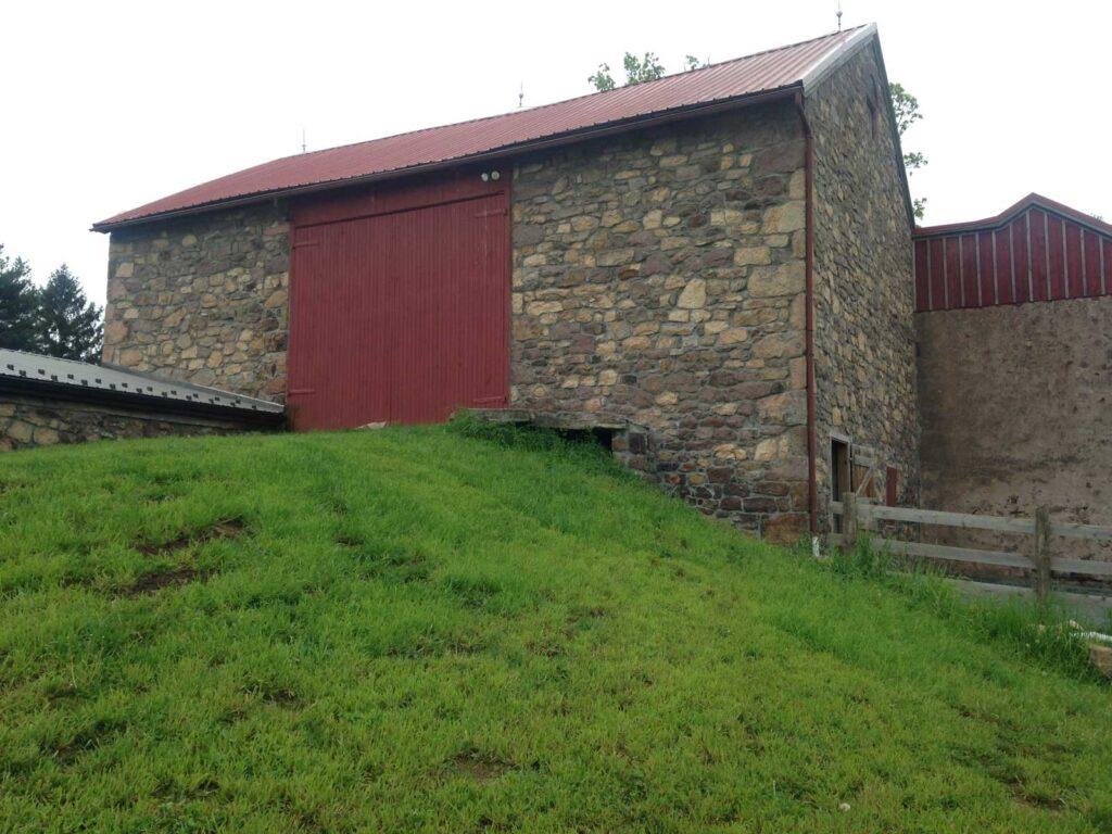 new barn stone siding