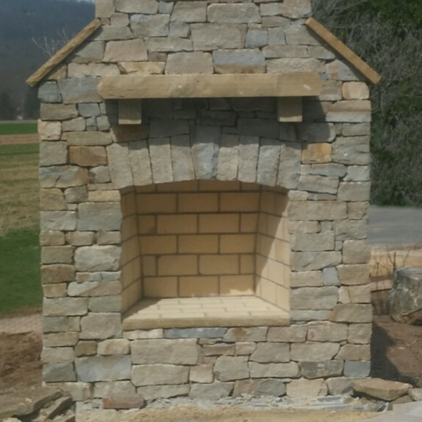 Flat Stack Fireplace