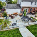 Dutchies patio created by stone masons